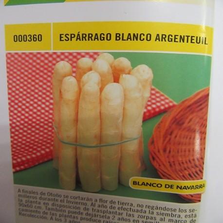 ESPÁRRAGO BLANCO ARGENTEUIL