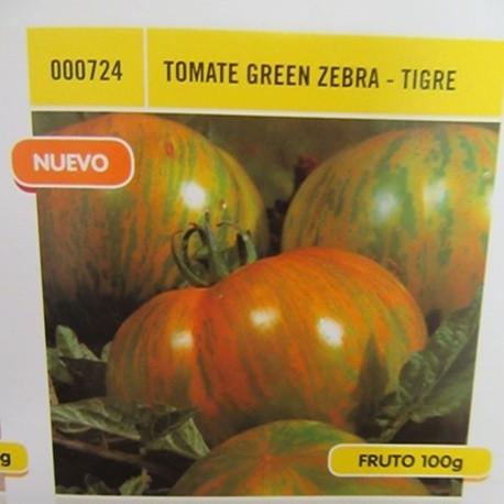 TOMATE GREEN ZEBRA-TIGRE