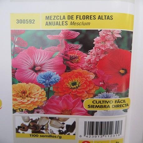 MEZCLA DE FLORES ALTAS ANUALES