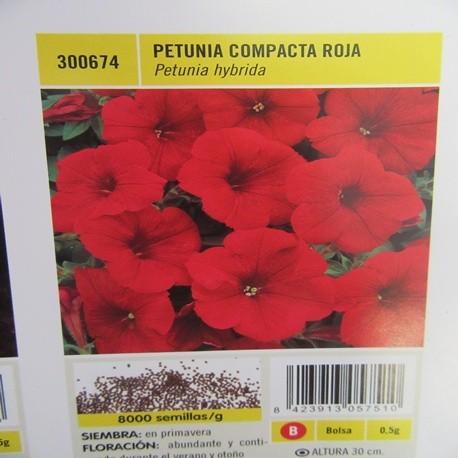 PETUNIA COMPACTA ROJA