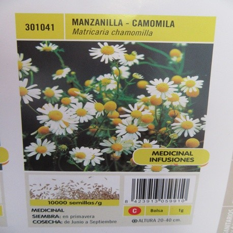 MANZANILLA-CAMOMILA