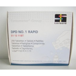 TABLETAS REACTIVO DPD 1 RAPID